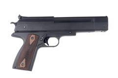El cierre para arriba de una pistola Imagen de archivo libre de regalías