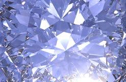 El cierre realista de la textura del diamante para arriba, 3D rinde stock de ilustración