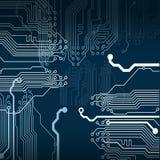 El circuito electrónico Fotos de archivo