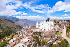 El Cisne Cathedral at Ecuador Royalty Free Stock Images