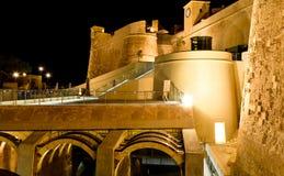 El Cittadella en Gozo - Malta Imagenes de archivo