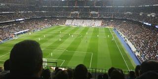 El Classico & x28;Estadio Santiago Bernabeu& x29; royalty free stock photo