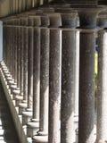 El claustro de Mont Saint Michel Abbey, Francia Fotografía de archivo