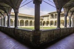 El claustro de S francesco Fotos de archivo