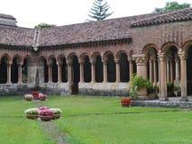 El claustro del San Zeno en Verona en Italia Fotografía de archivo