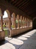 El claustro del San Zeno en Verona en Italia Imagen de archivo libre de regalías