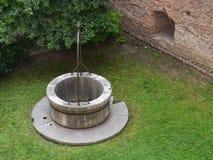 El claustro del San Zeno en Verona en Italia Foto de archivo libre de regalías