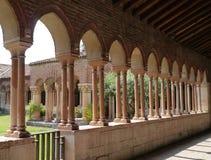 El claustro del San Zeno en Verona en Italia Imagen de archivo