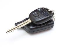 El clave del coche con los botones Imagen de archivo