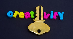 El clave a la creatividad. foto de archivo