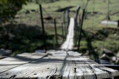 El clavo y el puente Fotos de archivo