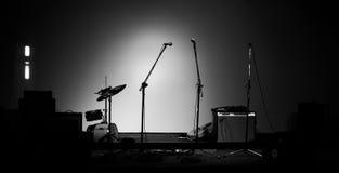 El claxon de la música fijó 3 Fotos de archivo