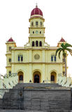 El Cobre教会在圣地亚哥的 图库摄影