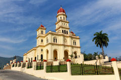 El Cobre Basilica Royalty Free Stock Photography