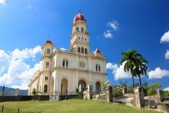 El Cobre church. El Cobre very famous church 13km from Santiago de Cuba, Cuba stock photos