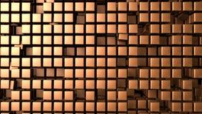 El cobre cubica el fondo Libre Illustration