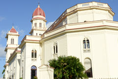 El Cobre very famous church 13km from Santiago de Cuba Stock Photo