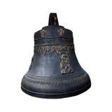 El cobre viejo   campana Foto de archivo libre de regalías