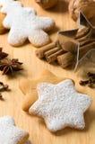 El cocer al horno en la Navidad Foto de archivo libre de regalías
