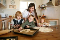 El cocer al horno junto Fotografía de archivo libre de regalías