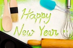 El cocer - Feliz Año Nuevo Fotos de archivo libres de regalías