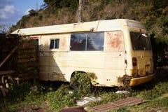 El coche abandonado Fotos de archivo libres de regalías