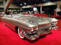 El coche convertible clásico de Cadillac brilla Imagen de archivo libre de regalías