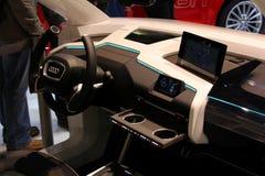 El coche de Audi Imagen de archivo libre de regalías