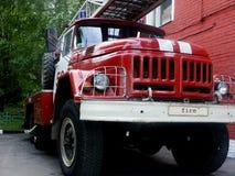 El coche de bomberos Fotografía de archivo
