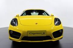 El coche de Porsche Fotografía de archivo