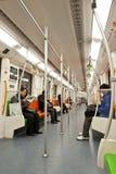 El coche de subterráneo Foto de archivo libre de regalías