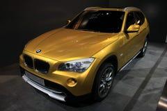 El coche del concepto de BMW X1 Imagen de archivo libre de regalías