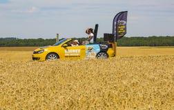 El coche del siglo 21 - Tour de France 2017 Fotografía de archivo