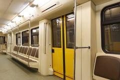El coche del subterráneo Fotografía de archivo libre de regalías