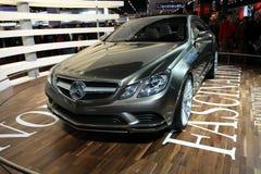 El coche híbrido del concepto de la S-clase de Mercedes Fotografía de archivo libre de regalías