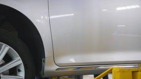 El coche levanta - servicio del automóvil - pequeña empresa metrajes
