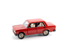 El coche rojo Imagenes de archivo