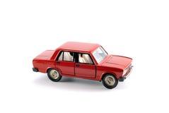 El coche rojo Fotografía de archivo libre de regalías