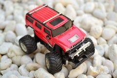 El coche rojo Imágenes de archivo libres de regalías