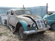 El coche viejo Imagen de archivo libre de regalías