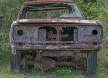 El coche viejo Foto de archivo libre de regalías