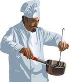 El cocinar ilustración del vector