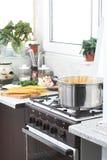 El cocinar Fotografía de archivo