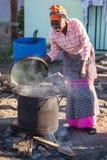 El cocinar Fotos de archivo libres de regalías
