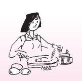 El cocinar Imagen de archivo libre de regalías