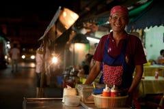 El cocinar de la calle Imagenes de archivo
