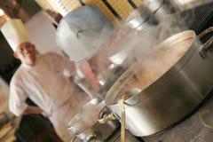 El cocinar del cocinero Imagenes de archivo