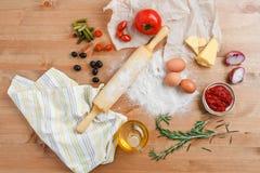 El cocinar hecho en casa Imagen de archivo