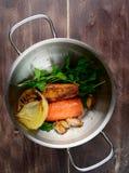 El cocinar vegetal del caldo Fotografía de archivo