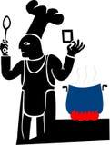 El cocinero libre illustration